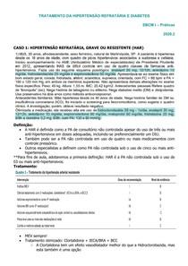 TRATAMENTO DA HIPERTENSÃO REFRATÁRIA E DIABETES