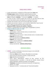URO | NEFRO - Doença renal crônica