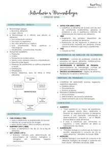Introdução à bromatologia