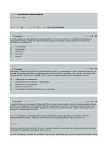 AV - INTRODUÇÃO À ADMINISTRAÇÃO 12-11-2014