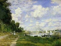 The Port at Argenteuil - Claude Monet