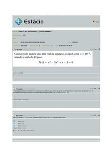 AV2- Cálculo numérico