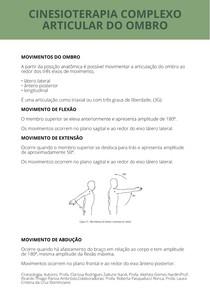 CINESIOTERAPIA COMPLEXO ARTICULAR DO OMBRO