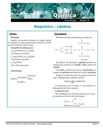 exercicio bioq lipid
