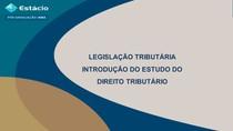 Aula 1 - Introdução ao Estudo do Direito Tributário