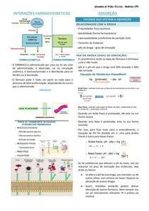 INTERAÇÕES FARMACOCINÉTICAS - explicação e exemplos