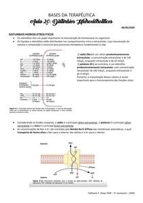 Distúrbios Hidroeletrolíticos Na-K