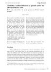 Trabalho e Vulnerabilidade:  A questão Social na Obra de Robert Castel, autoria de Fabrício Maciel.