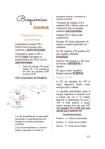 Resumos de Bioquímica parte 2
