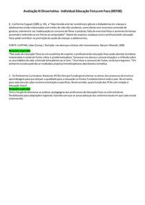 Avaliação III Discursiva - Educação Física Em Foco