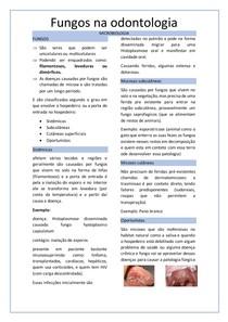 fungos na odontologia
