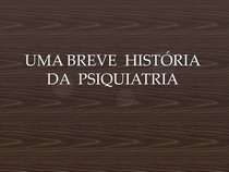 História da Psicologia no Brasil - Aula