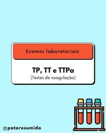 Testes de coagulação