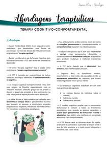Terapia Cognitivo-Comportamental - part 1