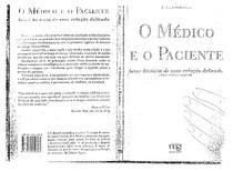 IsmaelRelau00E7u00E3o mu00E9dico paciente breve historia de uma relau00E7u00E3o delicada