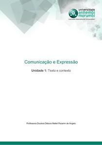 Comunicação e Expressão - Unidade 1