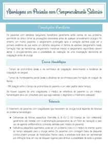 Condutas odontológicas em pacientes com coagulopatias hereditárias