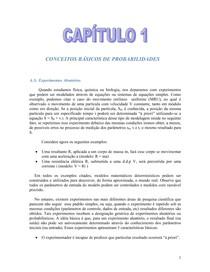 Capítulo 1 - Conceitos básicos de probabilidade - Murilo