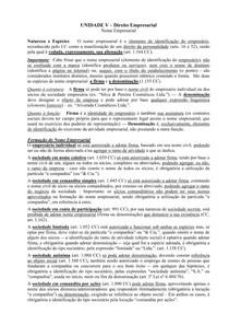Direito Empresarial- Nome Empresarial
