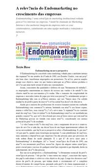 Endomarketing como estratégia de crescimento