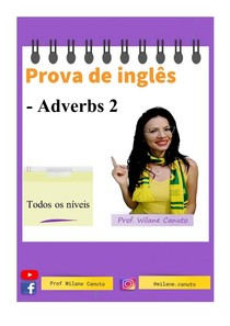 ING - prova - Adverbs 2