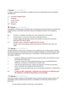 REVISÃO ED ESPECIAL - AV2