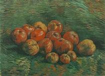 Vincent Willem van Gogh-ainda-vida-com-Apples