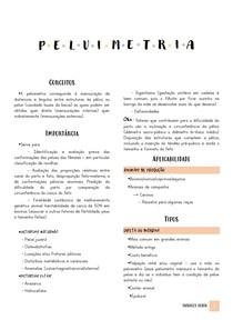 Resumo Pelvimetria - Ginecologia e Obstetrícia Veterinária