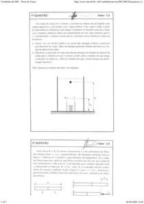 Prova de Física - IME 2002