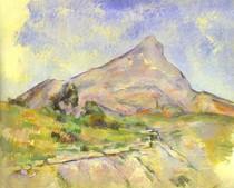 Paul Paul Cézanne - Mont Sainte Victoire Light