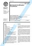 NBR 5674 NB 595   Manutencao de edificacoes   Procedimento