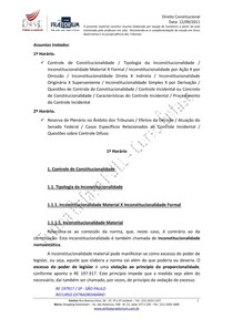 Resumo Direito Constitucional   Aula 04