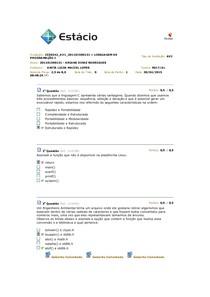 Linguagem de Programação AV1