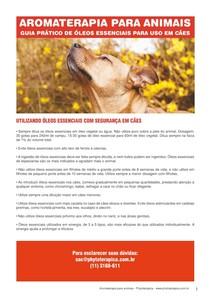 Aromaterapia para Cães