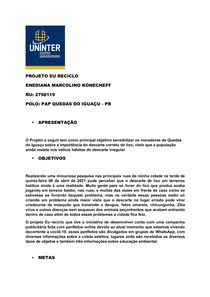 Portfólio Uninter 2021