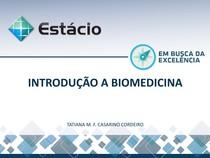 aula1 introduçao a biomedicina