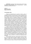 11ª Aula Texto 2 - O modelo psicanalítico - C. R. Rappaport - FASES DO DESENVOLVIMENTO