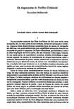 MALINOWSKI, B. Os argonautas do pacífico ocidental