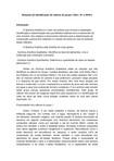 Relatório de Química Analítica Qualitativa: Cátions do grupo I