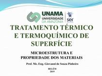 Microestrutura e propriedade dos materiais