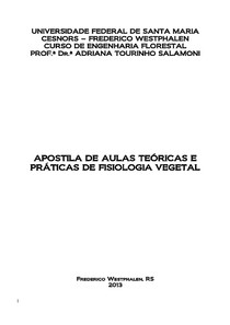 Apostila DE Fisiologia Vegetal T&P_2013