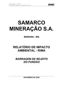 RIMA SAMARCO