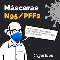 Como usar e reutilizar a sua máscara PFF2/N95