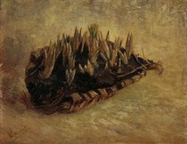 Vincent Willem van Gogh-ainda-vida-com-uma cesta-de-Crocuses