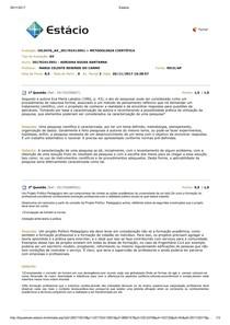 AV2 Metodologia Científica