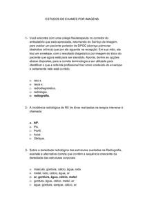 50 QUESTÕES DE ESTUDOS DE EXAMES POR IMAGENS