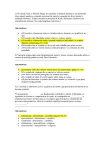 AVALIAÇÃO VIRTUAL 1   Licenciaturas   Ética, Política e Cidadania