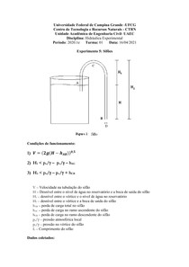 EXPERIMENTO5-HIDRAULICA EXPERIMENTAL