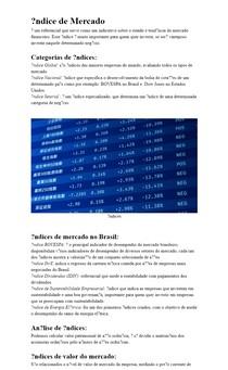 Índice de Mercado