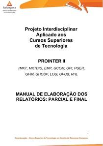 PROINTER II Nucleo Comum CST Manual De Colaboração